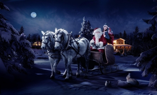 Santa's Sleigh Coming November 12th