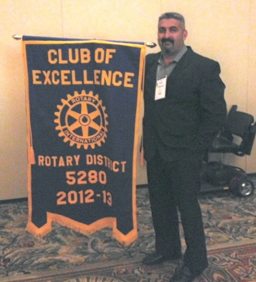 Lawndale Rotary Wins Club of Excellence Recognition